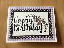 Stampin Up Handmade Birthday Card