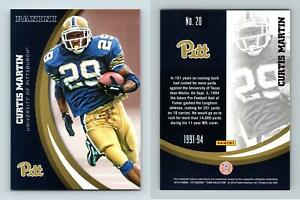Curtis Martin #20 Pittsburgh Panthers Collegiate 2016 Panini Trading Card