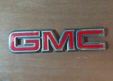 GMC Emblem Badge Safari Yukon Hatch Truck Tailgate OEM 15029627