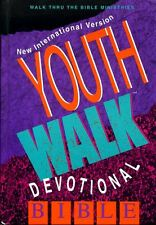 Holy Bible THE HOLY BIBLE, YOUTHWALK DEVOTIONAL BIBLE, NEW INTERNATIONAL VERSION