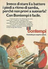 X4508 Bontempi il metodo per scoprire talenti - Pubblicità 1976 - Advertising
