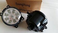 2*Highbright LED DRL daytime running light fog lamp fit for fort-focus 2009-2014