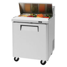 "Turbo Air Mst-28-N 28"" Self Contained Sandwich Salad Prep with One Swing Door"