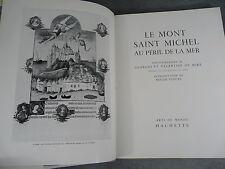 Miré Valentine Le mont saint Michel au péril de la mer Beau livre architecture