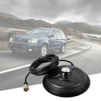 US NMO 6.1in Magnetic Magnet Mount 5M Cable RG58 for VHF UHF Car Mobile Antenna