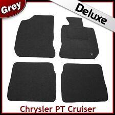 CHRYSLER PT CRUISER 2000-2010 1300 G di lusso su misura tappetini auto moquette grigio