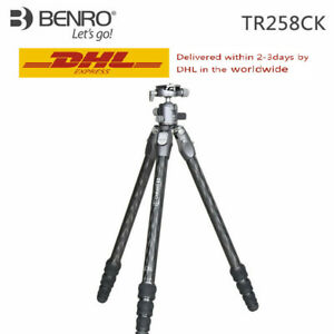 Benro TR258CK Tripod Carbon Fiber Professional with G30 Ball Head for SLR Camera