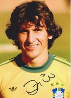 Zico - Brasilien - original signiertes FOTO - 13x18cm - Autogramm - World Cup