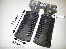FP002 SET OF STANDARD FOOT PEGS FOR 47CC / 49CC MINI MOTO POCKET BIKE