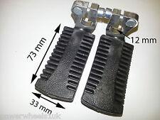 FP002 SET OF STANDARD FOOT PEGS FOR 47CC / 49CC MINI MOTO POCKET BIKE