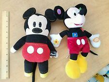 Disney Stuffed Animal Lot Pook A Looz Mickey Mouse and Talking Electronic Works