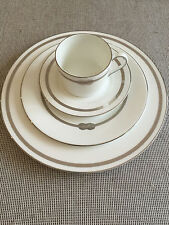 VERA WANG  Wedgwood Infinity Dinner Set 8 places - NEW IN BOX - RRP over $3000