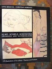 KLIMT SCHIELE KOKOSCHKA. DRAWINGS AND WATERCOLOURS - O. BRIECHA, C. NEBEHAY