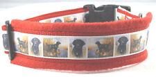 "Hundehalsband ""Schwarzer Labrador"" Größe L 50-55 cm Halsumfang"
