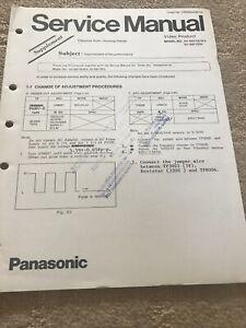 Panasonic NV-MS70E/B/A , NV -M810EN.Supplement service manual
