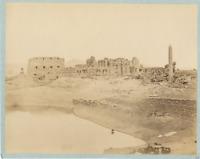 Beato. Egypte, Karnak Vintage albumen print. Antonio Beato (né vers 1825, mort e