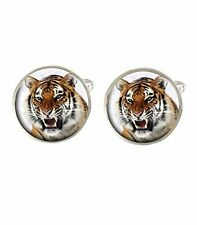 Tiger Animal Mens Cufflinks Ideal Birthday Father Day Gift C171