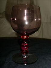 Sagaform Spectra Single Cranberry Wine Glass - New