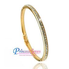 Swarovski Diamond Yellow Gold Plated Fashion Jewellery