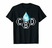 CBD Oil Drop Science Shirt Cannabidiol Hemp Coffee Weed Gift