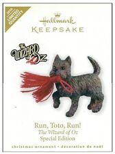 2010 Hallmark Wizard of Oz Run Toto Run Limited Quantity Ornament!
