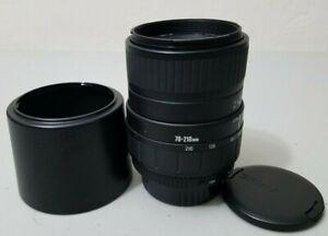 Sigma 70-210mm 1:4-5.6 UC-II Lens for Pentax SA KPR Mount SLR Camera *GOOD*