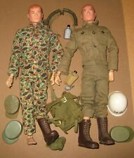 2 Copyright 1964 Gi Joe Dolls plus misc Gear and Equip