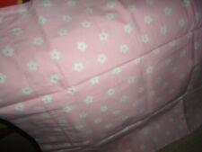 Pottery Barn Kids Floral Dot Pink & Green (1) Standard Pillowcase 20 X 29