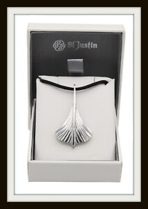VIKING NORSE LONGSHIP PEWTER PENDANT NECKLACE ~ FROM ST. JUSTIN UK MADE