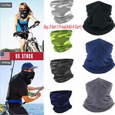 Multi-use Tube Scarf Bandana Head Face Mask Neck Gaiter Head Wear summer Fast
