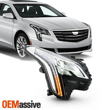 For 2018-2019 Cadillac XTS Sedan 4Dr LED Tube Bar Projector Headlight Passenger