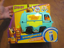 IMAGINEXT SCOOBY-DOO ! TRANSFORMING MYSTERY MACHINE PLAY SET 2 FIGURE NEW