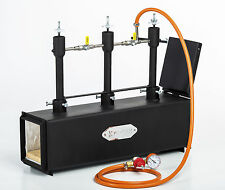 DFPROF3+1D Gas Propane Forge for Knifemaking Farriers Blacksmiths Furnace Burner