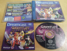 GAUNTLET LEGENDS for SEGA DREAMCAST VERY RARE & COMPLETE by Midway