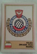 Euro Football Figurine Panini Card No 224 Polski Zwiazek Pilki Noznej