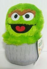 "7.5"" Sesame Street Oscar The Grouch Plush Toy Stuffed Animal NWT"
