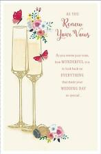 Stunning As You Renew Your Wedding Vows, Wedding Greeting Card