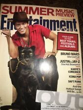 Entertainment Weekly Bruno Mars Justin Timberlake Daft Punk Icona Pop Fergie