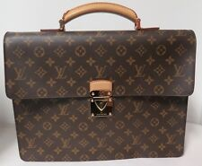 1e1e58357443 Auth Louis Vuitton Monogram Robusto 1 Compartmented Briefcase Bag M53027 .