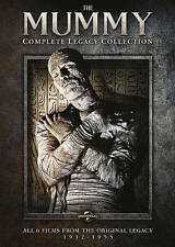 The Mummy: The Legacy Collection (DVD, 2014, 3-Disc Set) New & Sealed