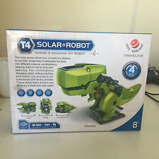 T4 Transforming Solar Powered Multi-Robot, Dinosaur, Drilling Machine, Insect