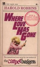 Where Love Has Gone(Paperback Book)Harold Robbins-Four Square-UK-19-Acceptable