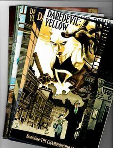 Daredevil: Yellow  #'s 1,2,3,4,5 & 6 Marvel 2001 Full Story Run in NM+!