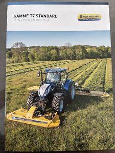 Tracteur New Holland T7 Prospectus Tractor Brochure Traktor Prospekt