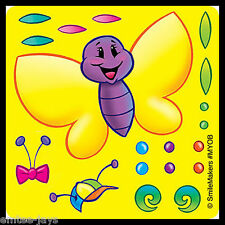 Make Your Own Butterfly Stickers x 5 - FAVOURS - Craft - Party/Teacher Supplies
