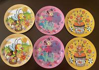 Disney Parks 2021 Epcot Flower & Garden Festival Scavenger Hunt 6 Plates Set New