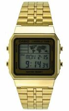 CASIO Vintage Retro Gold A500WGA-9 A500WGA-9 World Time Map Display @