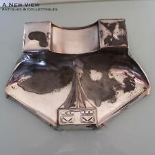 Art Nouveau large WMF Inkwell and stamp box.