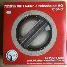 HO Fleischmann boxed mint 6154C small electric turntable