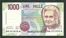 Italy Lire 1.000 FDS ass/gem UNC MONTESSORI Decr. 24-10-1990 !!!